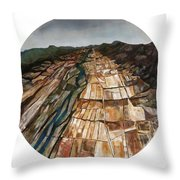 Land Of Promise Throw Pillow