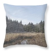 Land Of The 5 Bogs Throw Pillow