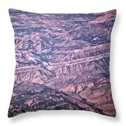 Land Structure Throw Pillow