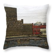 Landauer And Co Dry Goods Throw Pillow