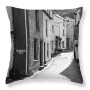 Landaviddy Lane Throw Pillow