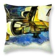 Landed Imperial Shuttle - Da Throw Pillow