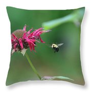 Landing Gear Down Captain Throw Pillow