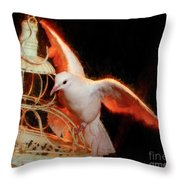 Landing Home Throw Pillow
