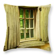 Landis Valley Window Throw Pillow
