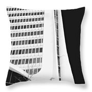 Landmark Square Facade Throw Pillow