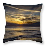 Lands End Sun Set  Throw Pillow