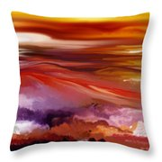 Landscape 022511 Throw Pillow