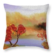 Landscape 031111 Throw Pillow