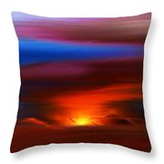 Landscape 081010 Throw Pillow
