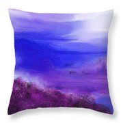 Landscape 081610 Throw Pillow