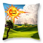 Landscape 1 Throw Pillow