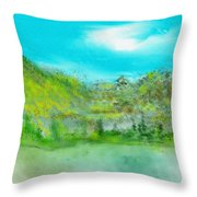 Landscape 101510 Throw Pillow