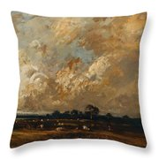 Landscape 1870 Throw Pillow