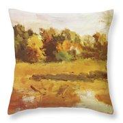 Landscape 1884 Throw Pillow