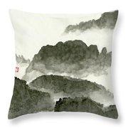 Landscape - 80 Throw Pillow