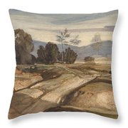 Landscape  Throw Pillow