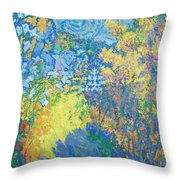 Alupka Palace Throw Pillow