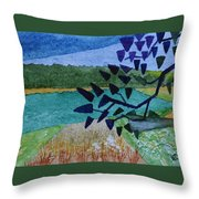 Landscape Angles Throw Pillow