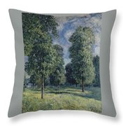 Landscape At Sevres Throw Pillow