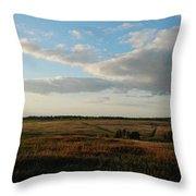 Landscape Far From The City Throw Pillow