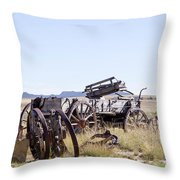 Landscape Galisteo Nm A10f Throw Pillow