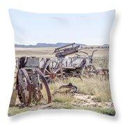 Landscape Galisteo Nm A10i Throw Pillow