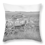 Landscape Galisteo Nm A10k Throw Pillow