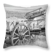 Landscape Galisteo Nm A10r Throw Pillow