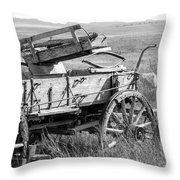 Landscape Galisteo Nm A10w Throw Pillow