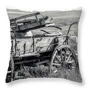 Landscape Galisteo Nm A10z Throw Pillow