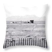 Landscape Galisteo Nm H10r Throw Pillow