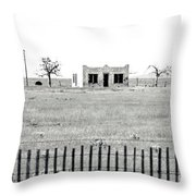 Landscape Galisteo Nm H10u Throw Pillow