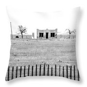 Landscape Galisteo Nm H10w Throw Pillow