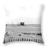 Landscape Galisteo Nm I10b Throw Pillow