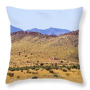 Landscape Galisteo Nm I10n Throw Pillow