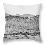 Landscape Galisteo Nm I10o Throw Pillow