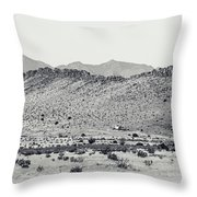 Landscape Galisteo Nm I10p Throw Pillow