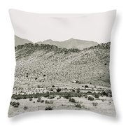 Landscape Galisteo Nm I10q Throw Pillow