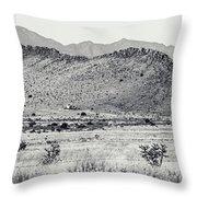 Landscape Galisteo Nm I10u Throw Pillow