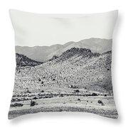 Landscape Galisteo Nm J10a Throw Pillow