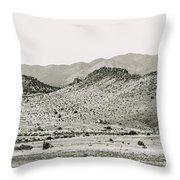 Landscape Galisteo Nm J10b Throw Pillow