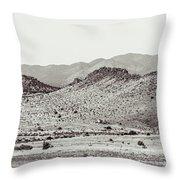 Landscape Galisteo Nm J10c Throw Pillow