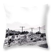Landscape Galisteo Nm J10u Throw Pillow