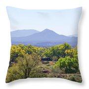 Landscape Galisteo Nm K10e Throw Pillow