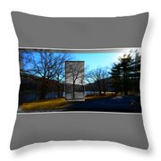 Landscape Ia A Box Throw Pillow