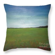 Landscape II Throw Pillow