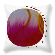 Landscape  In Oriental Style Throw Pillow