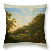 Landscape Painter Throw Pillow