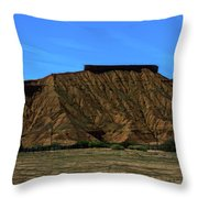 Landscape Scenery Valley Of Fire  Throw Pillow